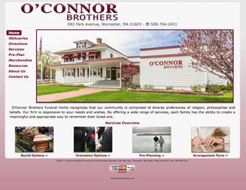 O'Connor Brothers Funeral Home, Worcester, MA