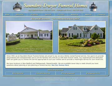 Saunders-Dwyer Funeral Homes, New Bedford and Mattapoisett, MA